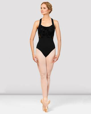 Sabel Wide Strap Leotard